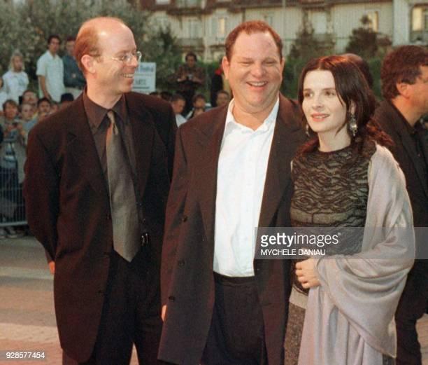 l'Américain John Dahl réalisateur du film 'Rounders' Harvey Weinstein un des deux frères fondateurs de la maison de production Miramax et l'actrice...