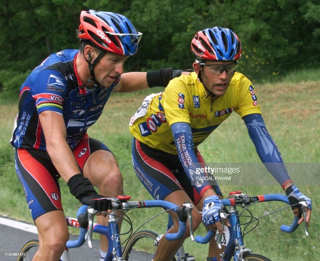CYCLISME-DAUPHINE-VAUGHTERS-ARMSTRONG : ニュース写真