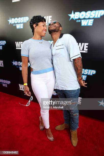 La'Myia Good and Eric Bellinger attend the 2nd Annual Bossip Best Dressed List event at Avenue on July 31 2018 in Los Angeles California