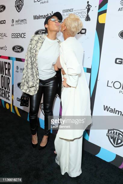 La'Myia Good and Meagan Good attend the 2019 Essence Black Women in Hollywood Awards Luncheon at Regent Beverly Wilshire Hotel on February 21 2019 in...
