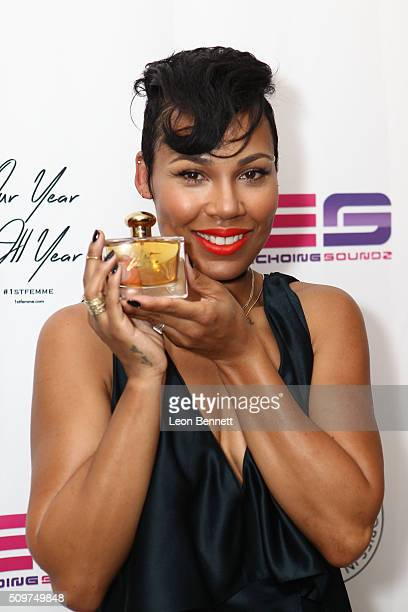 La'Myia Good attended the La'Myia Good Hosts 1st Femme Fragrance Launch on February 11 2016 in Hollywood California