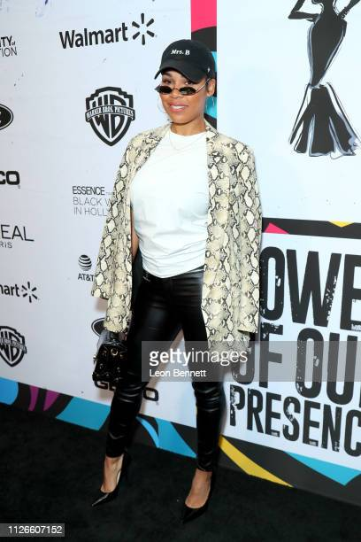 La'Myia Good attends the 2019 Essence Black Women in Hollywood Awards Luncheon at Regent Beverly Wilshire Hotel on February 21 2019 in Los Angeles...
