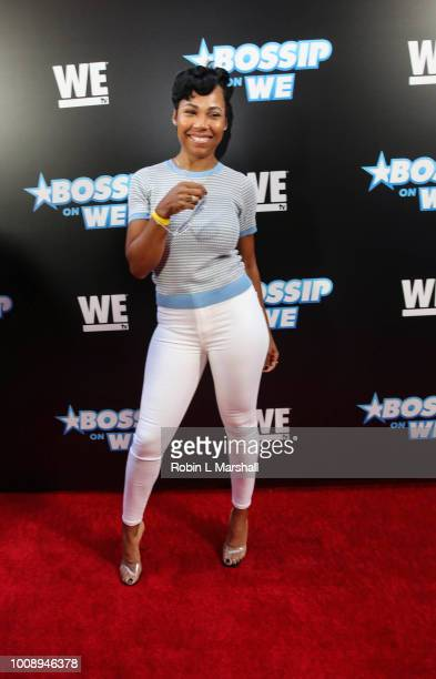 La'Myia Good attends the 2nd Annual Bossip Best Dressed List event at Avenue on July 31 2018 in Los Angeles California
