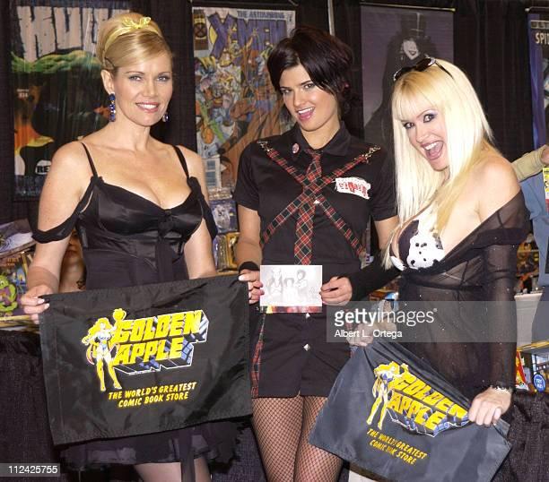 Lana Clarkson, Lizzie Strain and Bridget Silvistri