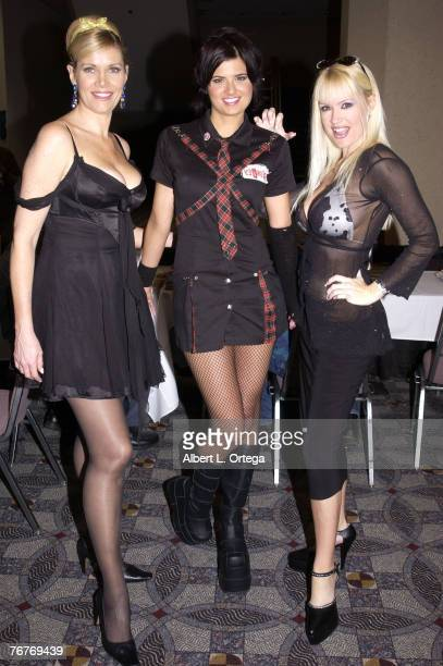 Lana Clarkson Lizzie Strain and Bridget Silvistri