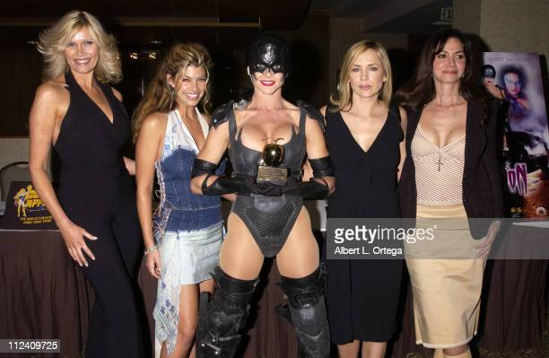 Lana Clarkson, Shae Marks, Julie Michaels, Sherrie Rose and Nancy Valen