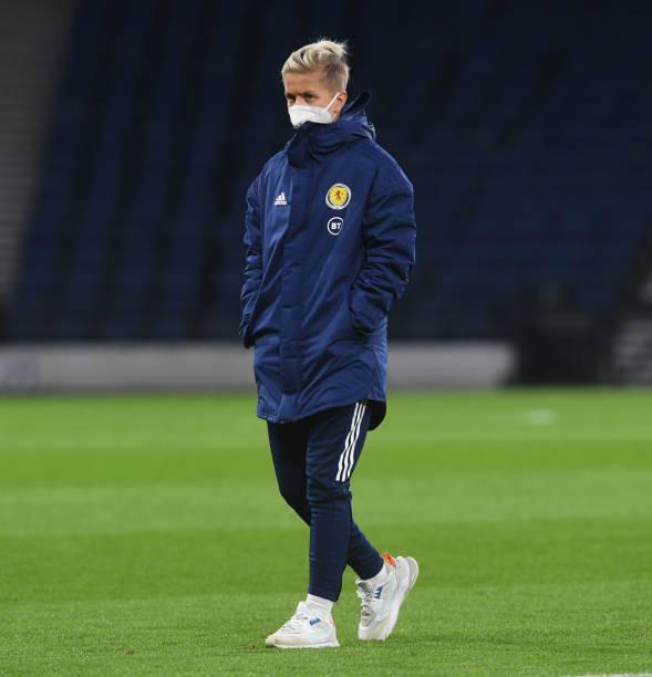 GBR: Scotland v Hungary: Group B - FIFA Women's WorldCup 2023 Qualifier