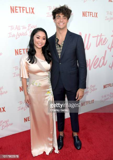Lana Condor and Noah Centineo attend Netflix's 'To All the Boys I've Loved Before' Los Angeles Special Screening at Arclight Cinemas Culver City on...