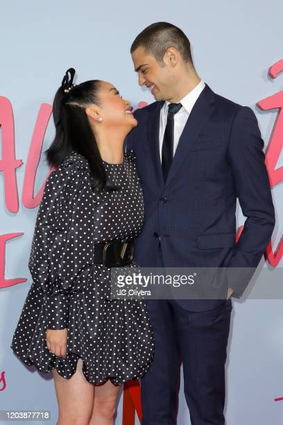 Lana Condor and Noah Centineo attend the Premiere of Netflix's To All The Boys PS I Still Love You at the Egyptian Theatre on February 03 2020 in...