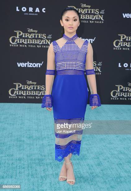 Lana Condor arrives at the Los Angeles Premiere 'Pirates Of The Caribbean Dead Men Tell No Tales' at Dolby Theatre on May 18 2017 in Hollywood...
