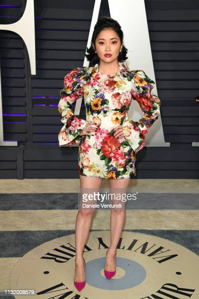 Lana Condor attends 2019 Vanity Fair Oscar Party Hosted By Radhika Jones at Wallis Annenberg Center for the Performing Arts on February 24 2019 in...