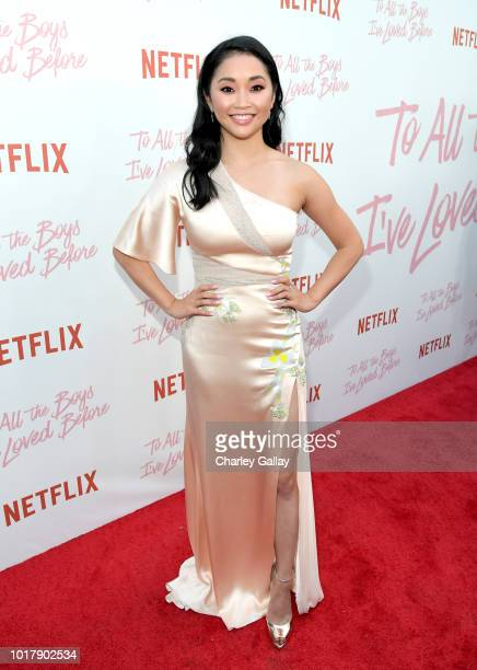 Lana Condor attends Netflix's 'To All the Boys I've Loved Before' Los Angeles Special Screening at Arclight Cinemas Culver City on August 16 2018 in...