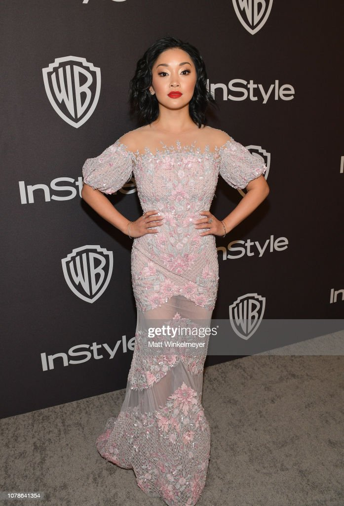 The 2019 InStyle And Warner Bros. 76th Annual Golden Globe Awards Post-Party - Red Carpet : News Photo