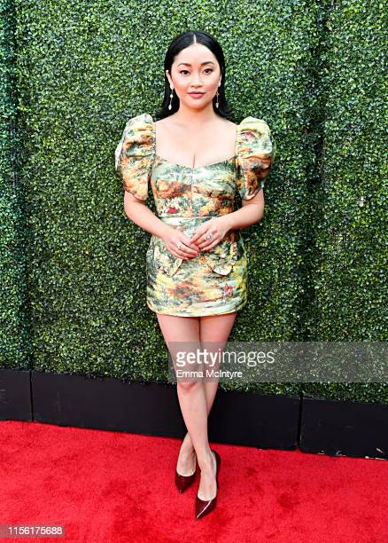 Lana Condor attends the 2019 MTV Movie and TV Awards at Barker Hangar on June 15 2019 in Santa Monica California