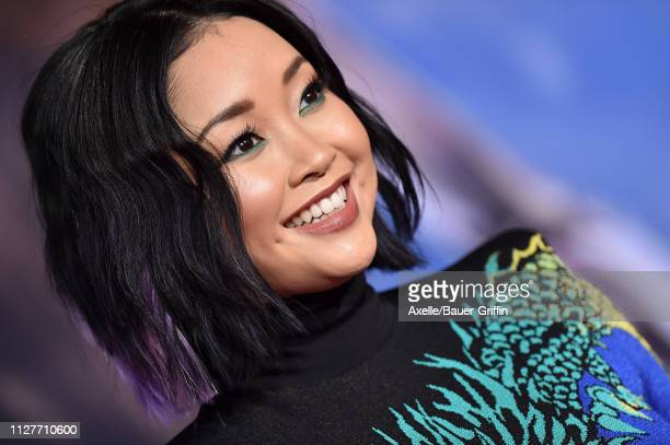 Lana Condor attends the premiere of 20th Century Fox's 'Alita Battle Angel' at Westwood Regency Theater on February 05 2019 in Los Angeles California