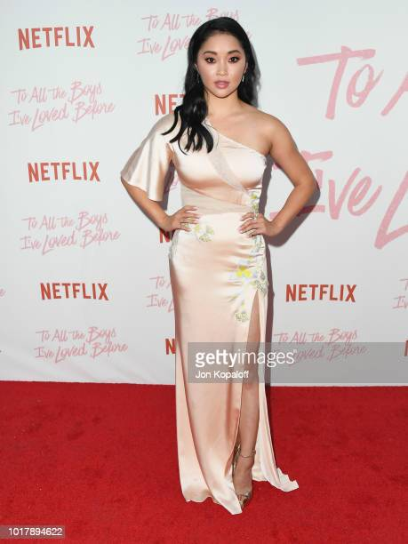 Lana Condor attends the screening of Netflix's To All The Boys I've Loved Before at Arclight Cinemas Culver City on August 16 2018 in Culver City...