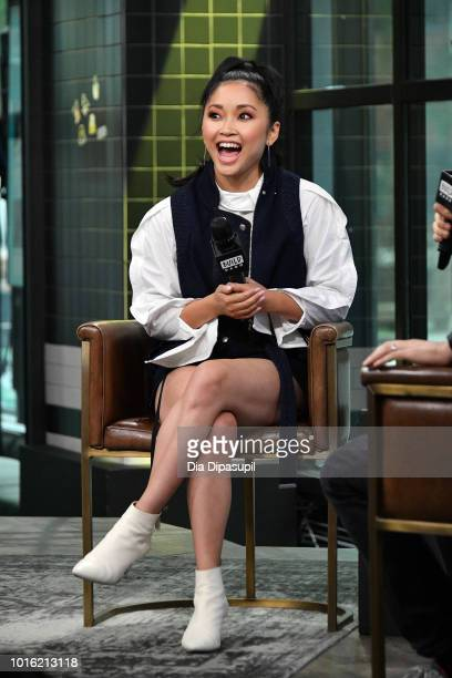 Lana Condor visits the Build Series to discuss 'To All the Boys I've Loved Before' at Build Studio on August 13 2018 in New York City