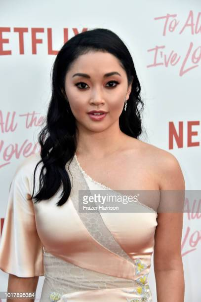 Lana Condorattends the Screening Of Netflix's To All The Boys I've Loved Before Arrivals at Arclight Cinemas Culver City on August 16 2018 in Culver...