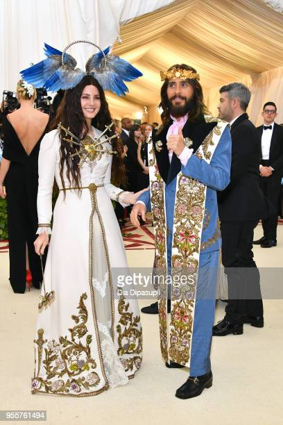Lana Del Rey and Jared Leto attend the Heavenly Bodies Fashion The Catholic Imagination Costume Institute Gala at The Metropolitan Museum of Art on...