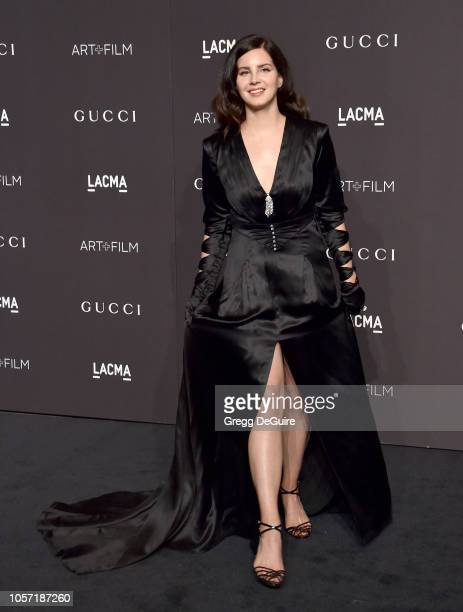 Lana Del Rey arrives at the 2018 LACMA Art Film Gala at LACMA on November 3 2018 in Los Angeles California