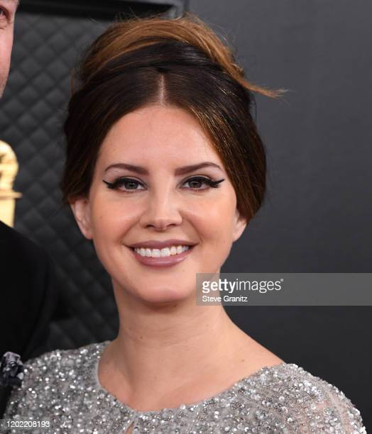 Lana Del Rey arrives at the 62nd Annual GRAMMY Awards at Staples Center on January 26, 2020 in Los Angeles, California.