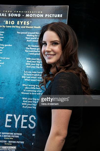 Lana Del Rey at the Big Eyes Press Conference at the Mandarin Oriental Hotel on December 4 2014 in New York City