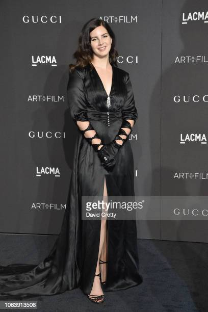 Lana Del Rey attends LACMA Art Film Gala 2018 at Los Angeles County Museum of Art on November 3 2018 in Los Angeles CA