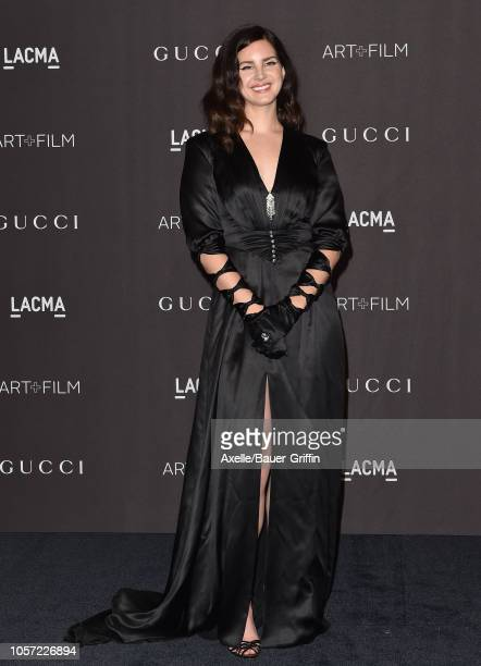 Lana Del Rey attends the 2018 LACMA Art Film Gala at LACMA on November 03 2018 in Los Angeles California