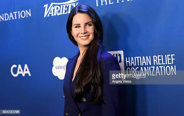 Lana Del Rey attends the 5th Annual Sean Penn & Friends HELP HAITI HOME Gala benefiting J/P Haitian Relief Organization at Montage Hotel on January...