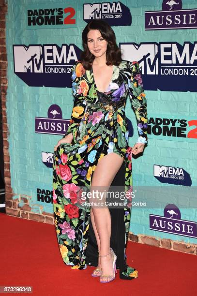 Lana Del Rey attends the MTV EMAs 2017 at The SSE Arena Wembley on November 12 2017 in London England