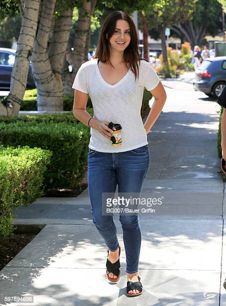 Lana Del Rey is seen on August 29 2016 in Los Angeles California