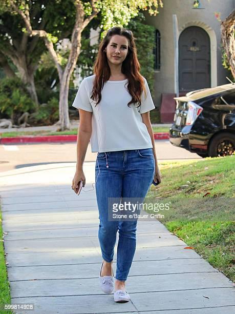 Lana Del Rey is seen on September 06 2016 in Los Angeles California