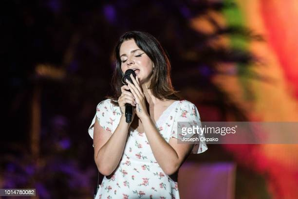 Lana Del Rey performs at Sziget Festival 2018 on August 10 2018 in Budapest Hungary