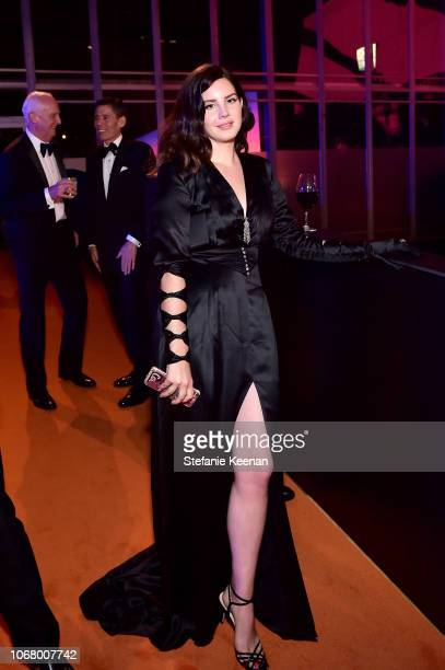 Lana Del Rey wearing Gucci attends 2018 LACMA Art Film Gala honoring Catherine Opie and Guillermo del Toro presented by Gucci at LACMA on November 3...