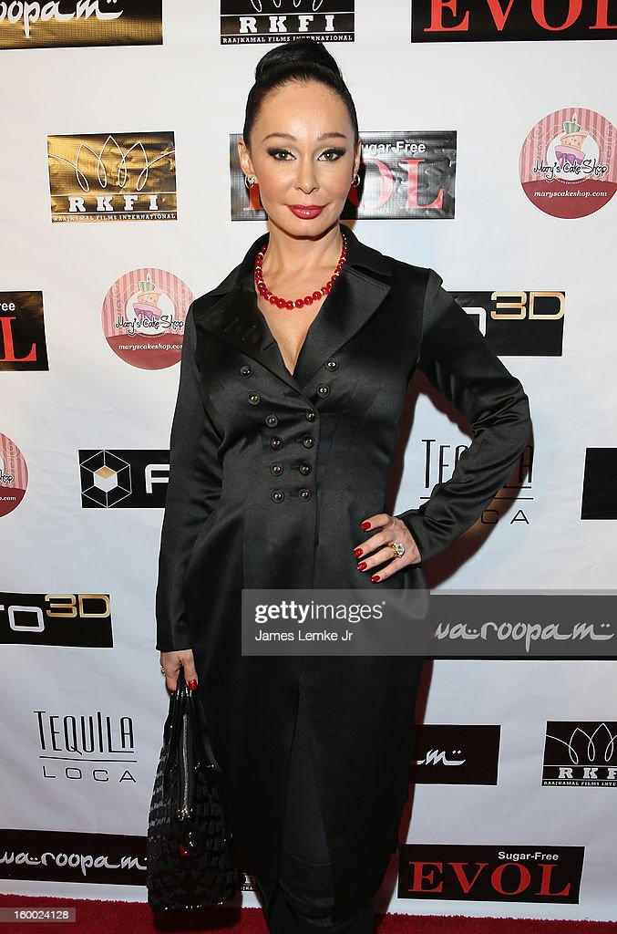 Lana Fuchs attends the 'Vishwaroopam' premiere held at the Pacific Theaters at the Grove on January 24, 2013 in Los Angeles, California.