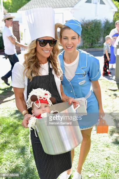 Lana Gomez and Founder GOOD Foundation Jessica Seinfeld attend the GOOD Foundation Halloween Bash presented by Beautycounter Delta Air Lines and...