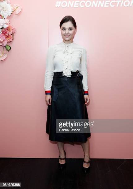 Lana Hopkins attends the Bumble Bizz launch on March 20 2018 in Sydney Australia