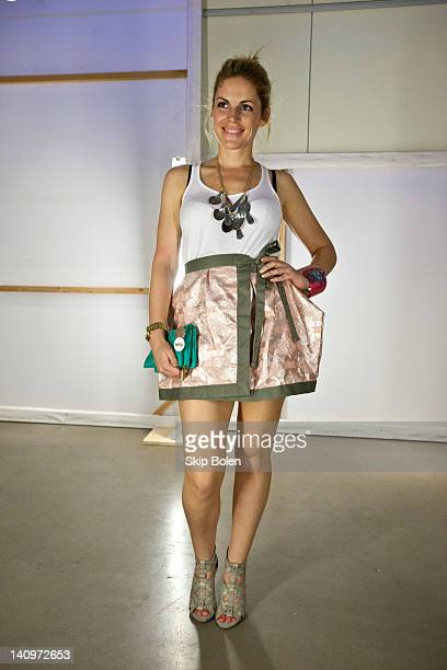 Lana Hunt attends the Matthew Arthur Presentation at AIA New Orleans during Fall/Winter 2012 NOLA Fashion Week on March 8 2012 in New Orleans...