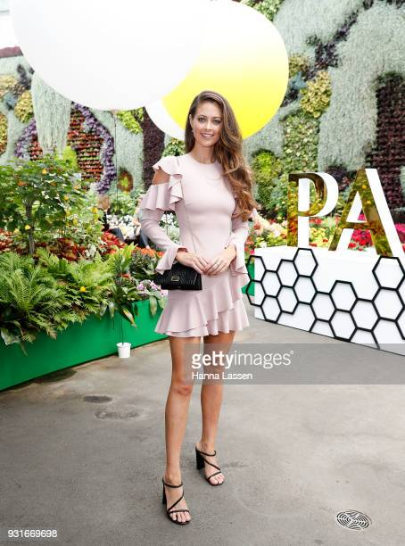 Lana JeavonsFellowes attends the Pandora Gold Party at The Calyx on March 14 2018 in Sydney Australia