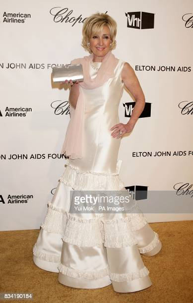 Lana Marks arrives for the 16th Annual Sir Elton John AIDS Foundation Oscar Party at the Pacific Design Centre in Los Angeles