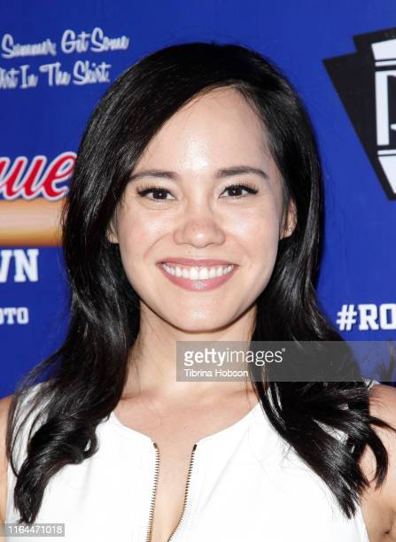 Lana McKissack attends the Unauthorized Musical Parody of 'A League Of Their Own' media preview night at Rockwell Table and Stage on July 26 2019 in...
