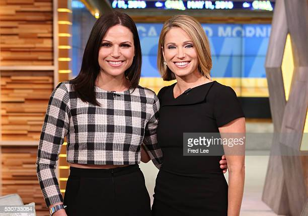 """Lana Parilla of Walt Disney Television via Getty Images's """"Once Upon a Time"""" is a guest on """"Good Morning America,"""" 5/11/16, airing on the Walt Disney..."""