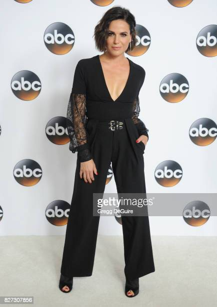 Lana Parrilla arrives at the 2017 Summer TCA Tour Disney ABC Television Group at The Beverly Hilton Hotel on August 6 2017 in Beverly Hills California