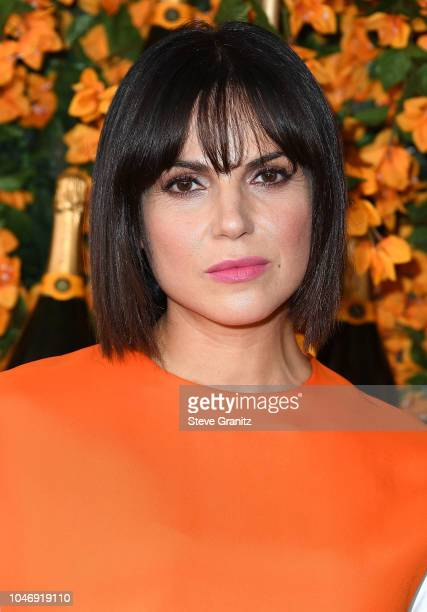Lana Parrilla arrives at the 9th Annual Veuve Clicquot Polo Classic Los Angeles at Will Rogers State Historic Park on October 6 2018 in Pacific...
