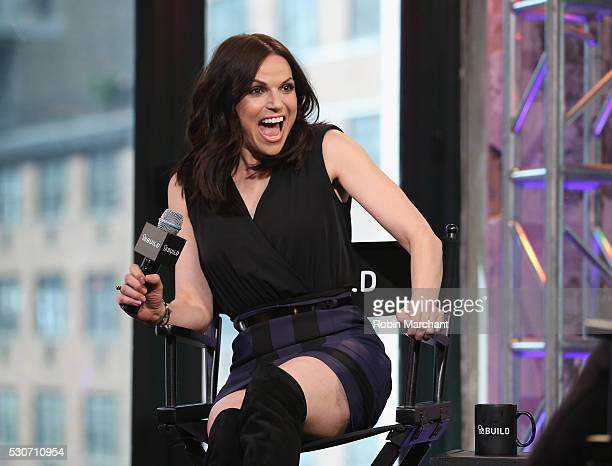 Lana Parrilla attends AOL Build Speaker Series Lana Parrilla 'Once Upon A Time' on May 11 2016 in New York New York