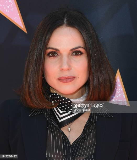 Lana Parrilla attends Eva Longoria's Hollywood Star Ceremony PostLuncheon on April 16 2018 in Beverly Hills California