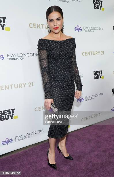 Lana Parrilla attends The Eva Longoria Foundation Gala at the Beverly Wilshire Four Seasons Hotel on November 15 2019 in Beverly Hills California