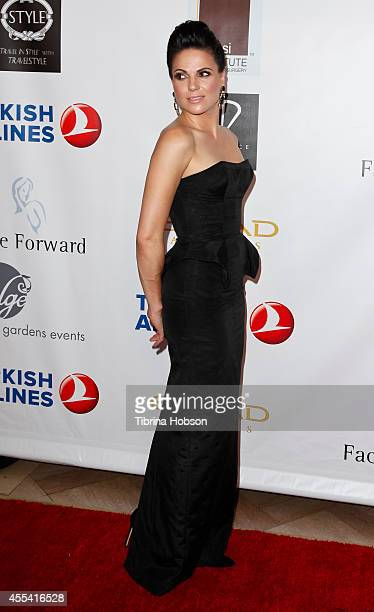 Lana Parrilla attends the Face Forward gala supporting victims of domestic abuse at Millennium Biltmore Hotel on September 13 2014 in Los Angeles...
