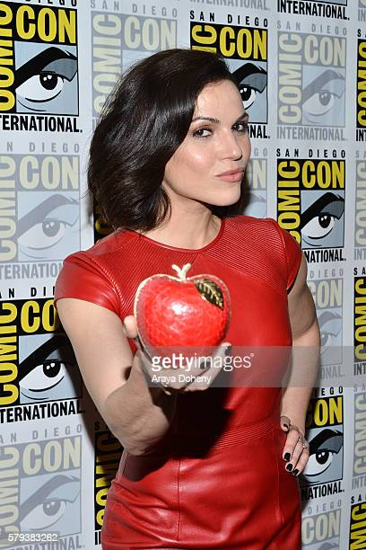 Lana Parrilla attends the Once Upon a Time press line at ComicCon International 2016 Day 3 on July 23 2016 in San Diego California