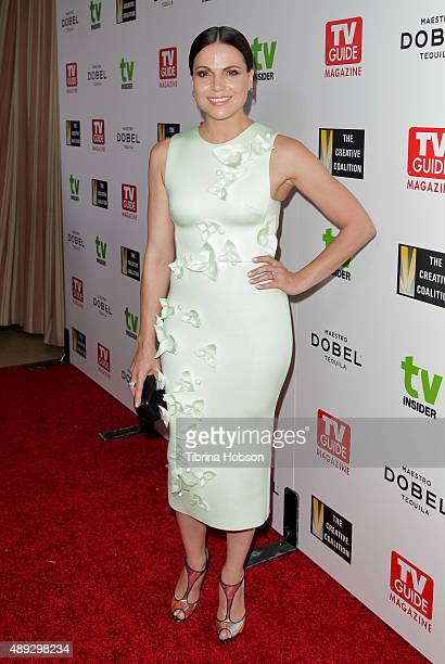 Lana Parrilla attends the Television Industry Advocacy Awards at Sunset Tower on September 18 2015 in West Hollywood California